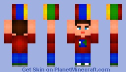 Boy with a ball Minecraft Skin