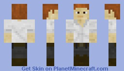 Guy Dangerous (Temple Run) Minecraft Skin