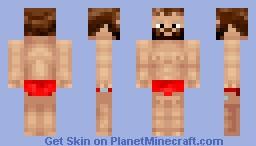 Guy With Speedos! Minecraft Skin