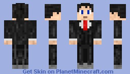 Alex - The Business Man Minecraft Skin
