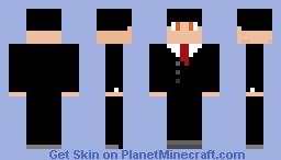 SIR MAN PERSON Minecraft Skin