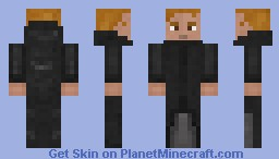The Man in the Hoodie Minecraft Skin