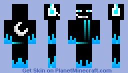 (BLUE) Enderman DJ! Minecraft Skin