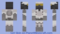 Halo Wars UNSC Marine Winter Battle Dress-look in preview Minecraft Skin
