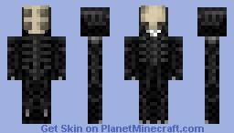 Giger's Alien Minecraft Skin