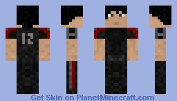 Hunger Games Training Suit Minecraft Skin