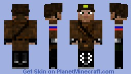 Russian Soldier Minecraft Skin