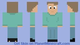 Average Man Minecraft Skin