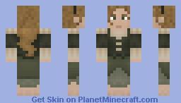 Halfling Woman Minecraft Skin