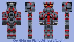 Halo 4 EOD armor Minecraft Skin