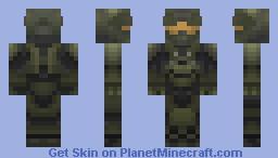 HALO 4 Master Chief Minecraft Skin