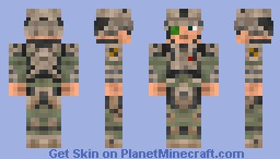 UNSC Soldier [Halo Reach] Minecraft