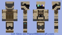 Halo UNSC marine Minecraft Skin