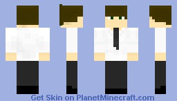 Jim Halpert - The Office (US) Minecraft Skin