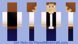 Han Solo (contest) Minecraft Skin