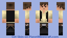 Han Solo [Equally Good In Preview!] Minecraft