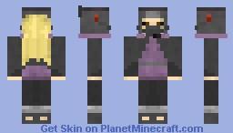 Hanzo Edo Tensei Minecraft Skin