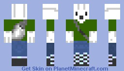 Holiday: Barry the GhastFellow: Presents! Minecraft Skin