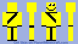 Happy Man Minecraft Skin