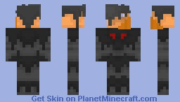 Halloween Harbinger (Better in 3D) Minecraft Skin