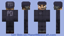 Hardcore Steve Series #8 Minecraft Skin