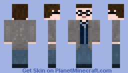 Harry Potter - Deathly Hallows Version Minecraft Skin
