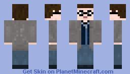Harry Potter Deathly Hallows Version Minecraft Skin - Harry potter skins fur minecraft