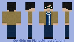Harry Potter - Deathly Hallows Clothes Minecraft Skin