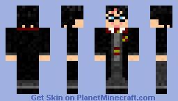 Harry Potter(HD+3D)! Minecraft Skin