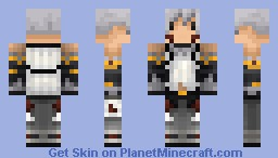 Haseo - Xth Form [.hack//] (100 subscribers!) Minecraft Skin