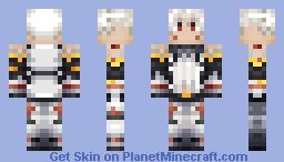 Haseo - ReUpload [.hack//] Minecraft Skin