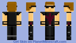 Hawkeye - The Avengers Minecraft Skin