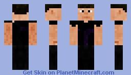 Hawkeye (The Avengers) Minecraft Skin