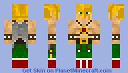 DC Hawkman Minecraft Skin