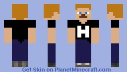 Team HaydenHill555 Minecraft Skin