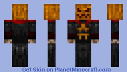 Headless Horseman Minecraft Skin