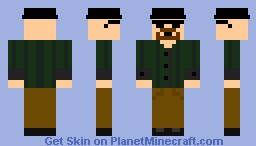 Hisenberg (Breaking Bad) Minecraft Skin