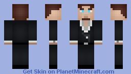Moimus the illusive man Minecraft Skin