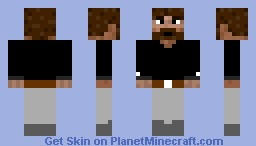 Minecraft Bearded Man