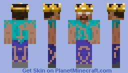 Herobrine king v.2 Minecraft Skin
