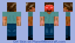Herobrine 2.0 Minecraft Skin