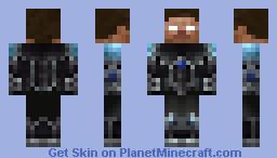 Herobrine Space Marine Minecraft Skin