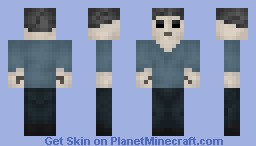 The Herobrine Minecraft Skin