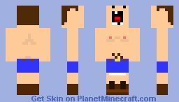 Hill Billy Minecraft Skin