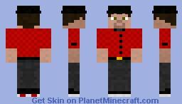 Hipster Minecraft Skin