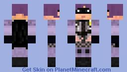 Hit Girl Minecraft Skin