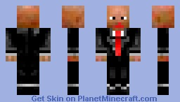HitMan Minecraft Skin