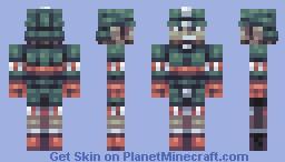 Candy Cane Cavalry Soldier (Santa's Workshop) Minecraft Skin