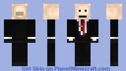 Hitman Agent 47 [Absolution] Minecraft Skin