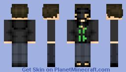Hollywood Undead Funny Man Minecraft Skin
